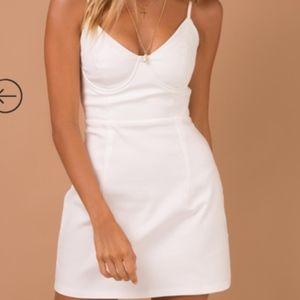 Novella Mini Dress White
